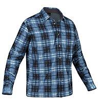 Salewa Salvin PL M L/S Shirt, M Selva Sparta Blue