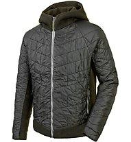 Salewa Sarner Tirol Wool Jacket Giacca con cappuccio trekking, Green