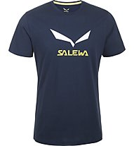 Salewa Solidlogo T-Shirt, Night Black