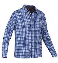 Salewa Therma PL M L/S Shirt Camicia a maniche lunghe trekking, M Nunatak Blue Ice