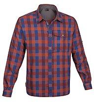 Salewa Therma PL M L/S Shirt Camicia a maniche lunghe trekking, M Zeno Garnet/Bright