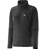 Salomon Discovery Fz Damen Fleecejacke, Black