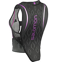 Salomon Flexcell W Protektorweste Damen, Black/Purple