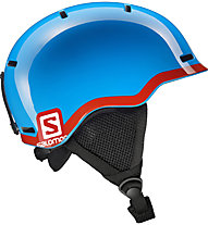 Salomon Grom - casco sci bambino, Blue/Red