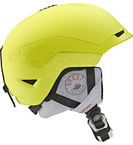 Salomon Quest Access - casco freeride, Gecko Green