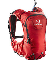Salomon Skin Pro 10 Set - Rucksack, Bright Red/Black