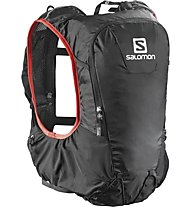 Salomon Skin Pro 10 Set - Rucksack, Black/Bright Red