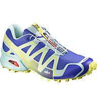Salomon Speedcross 3 scarpa trail running donna, Wild Violet/Igloo Blue