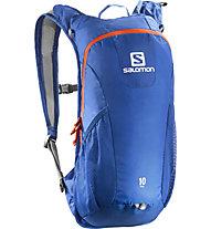 Salomon Trail 10 Zaino Trail Running, Blue/Orange