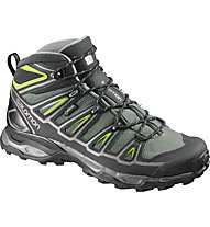 Salomon X Ultra Mid 2 GORE-TEX, Beetle Green/Black/Spring Green