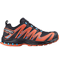 Salomon XA Pro 3D GORE-TEX, Black/Orange/Blue