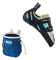 Scarpa Vapor V - scarpetta arrampicata donna, Turquoise