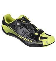Scott Road Team Boa Shoe, Black/Neon Yellow