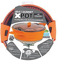 Sea to Summit X Pot Medium - Kochtopfset, Orange