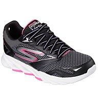 Skechers Go Run Vortex donna, Black/Hot Pink