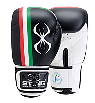 Sting Guanti boxe FPI Official, Black/White