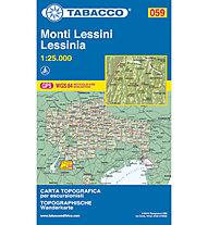 Tabacco N° 059 Monti Lessini/Lessinia (1:25.000), 1:25.000