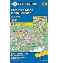 Tabacco N° 040 Monti Sarentini/Sarntaler Alpen (1:25.000), 1:25.000