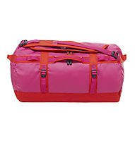 The North Face Base Camp Duffel S (2016) - borsone, Fuchsia Pink/Fiery Red