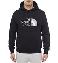 The North Face Drew Peak Felpa con cappuccio, TNF Black/TNF Black