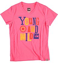The North Face Hike T-Shirt Mädchen, Sugary Pink