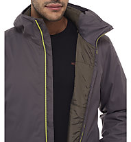 The North Face Quest Insulated giacca trekking, Black Ink Green