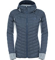The North Face Thermoball Gordon Lyons Giacca in pile donna, Blue