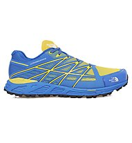 The North Face Ultra Endurance scarpa trail running, Dark Blue/Light Yellow