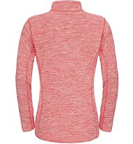 The North Face W Motivation 1/4 Zip Felpa fitness donna, Red