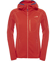 The North Face Incipent Hooded Giacca in pile Donna, Fiery Red
