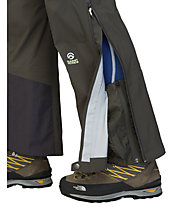 The North Face Point Five NG pantaloni lunghi hardshell donna, Black Ink Green