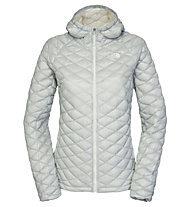The North Face ThermoBall Kapuzenjacke Damen, High Rise Grey