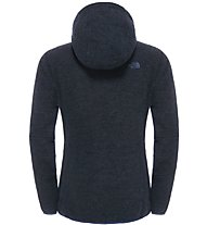 The North Face Zermatt Full Zip Hoodie Giacca in pile donna, Blue