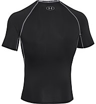 Under Armour Armour HG SS T-Shirt fitness, Black