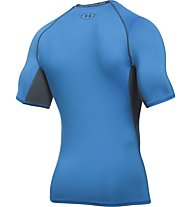 Under Armour Armour HG SS T-Shirt fitness, Blue