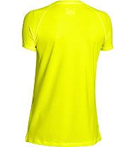 Under Armour HeatGear Armour Trainingsshirt Damen, Yellow