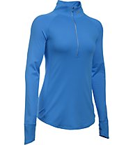 Under Armour Layered Up! 1/2 Zip Langarmshirt Damen, Blue