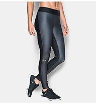 Under Armour Leggings UA HeatGear Armour Engineered Pantaloni lunghi fitness donna, Black