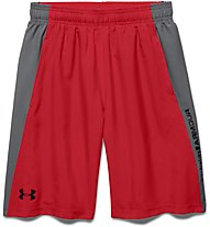 Under Armour Skill Woven Short Pantaloni corti fitness Bambino, Red