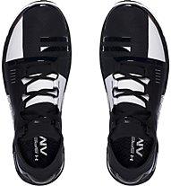 Under Armour Speedform Amp Trainer - scarpe da ginnastica, Black/White