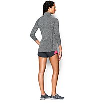 Under Armour Tech 1/2 Zip Maglia maniche lunghe Donna, Black