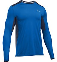 Under Armour UA Coolswitch Run L/S - maglia running, Blue