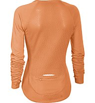 Under Armour Fly By Damen-Shirt Langarm, Cyber Orange