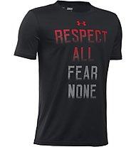 Under Armour Fear None T-Shirt Jungen, Black