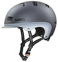 Uvex City 5 Radhelm, dark silver metallic mat