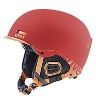 Uvex Hlmt 5 Core, Red/Orange Mat