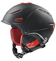 Uvex p1us Pro, Black/Red Mat