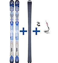 Völkl Quanik Set: Ski + Felle + Bindung