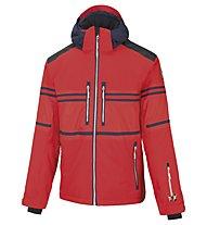 Vuarnet M-Lofer Jacket Man Skijacke, Red/Sail Navy