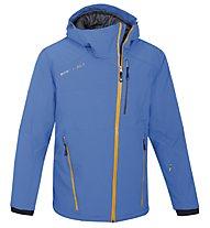 West Scout Isolation Jacket Man, Light Blue/Dark Orange